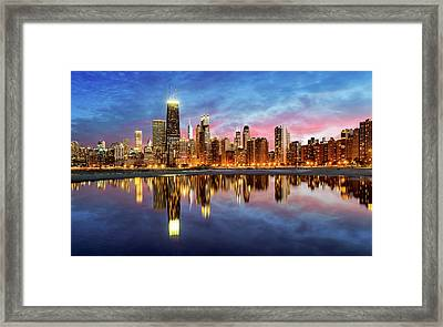 Chicago Framed Print by Joe Daniel Price