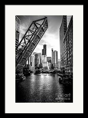 White River Photographs Framed Prints