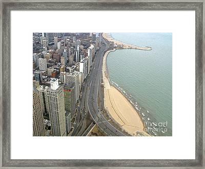Chicago Lakeshore Framed Print by Ann Horn