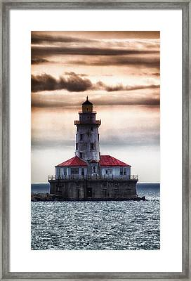 Chicago Lighthouse 3 Framed Print by Christopher Muto