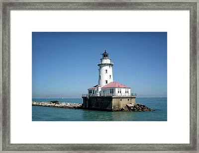 Chicago Lighthouse Framed Print