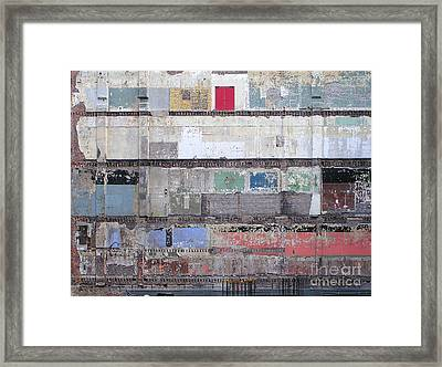 Chicago Loop Construction Framed Print