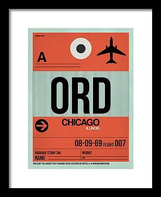 Tourist Framed Prints