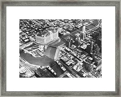 Chicago Merchandise Mart Framed Print by Underwood Archives