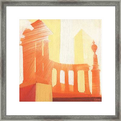 Chicago Millenium Monument 19 Of 100 Framed Print by W Michael Meyer