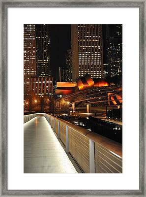 Chicago Millenium Park Framed Print by Steve Archbold