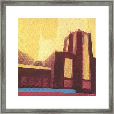 Chicago Navy Pier 87 Of 100 Framed Print by W Michael Meyer