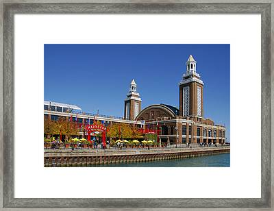 Chicago Navy Pier Headhouse Framed Print by Christine Till