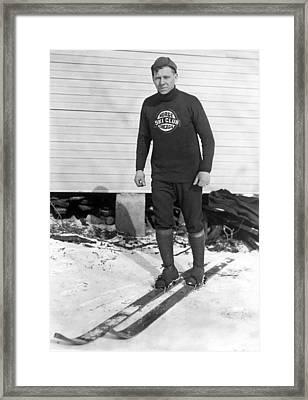 Chicago Norge Ski Club Member Framed Print