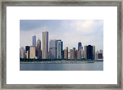 Chicago Panorama Framed Print
