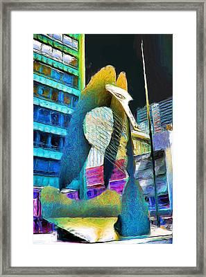 Chicago Picasso Framed Print