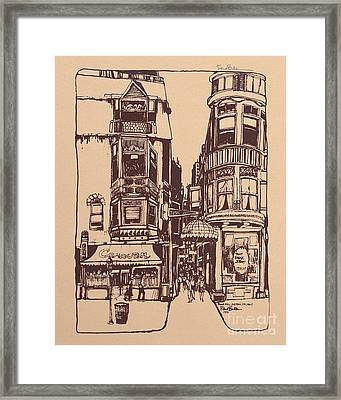 Chicago. Pipers Alley On Wells Street Framed Print