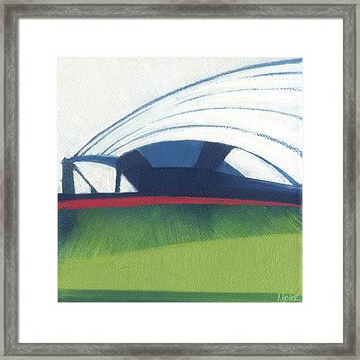 Chicago Pritzker Pavilion 64 Of 100 Framed Print by W Michael Meyer