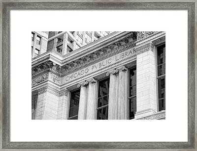 Chicago Public Library Framed Print