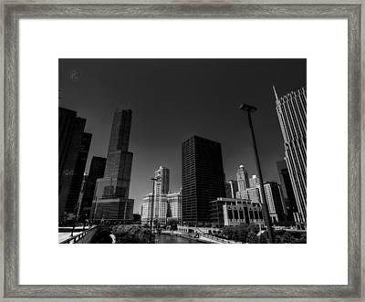 Chicago River 001 Framed Print by Lance Vaughn