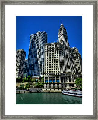 Chicago River 002 Framed Print by Lance Vaughn
