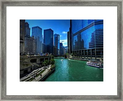 Chicago River 003 Framed Print by Lance Vaughn
