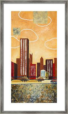 Chicago River I Framed Print
