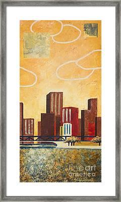 Chicago River II Framed Print