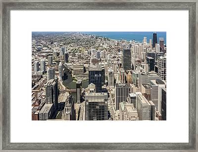 Chicago Framed Print by Rostislav Bychkov