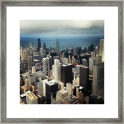 Chicago, Second To None Framed Print by Mike Maher