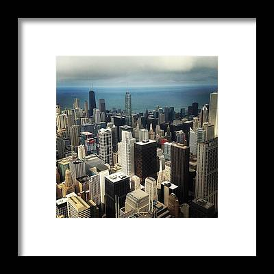 Skyscrapers Framed Prints