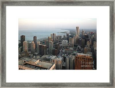 Chicago Shore Framed Print by Bill Quick