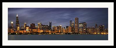 Lakefront Framed Prints