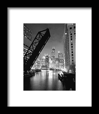 Hancock Building Framed Prints