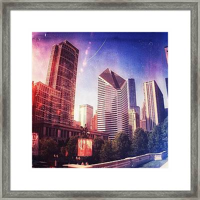 Chicago Skyscrapers 🏢 Framed Print