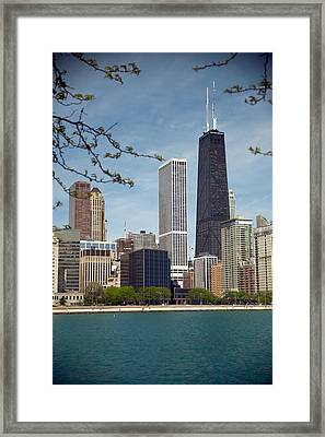 Chicago Spring Framed Print