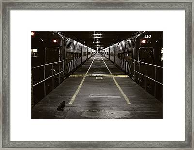 Chicago Station Framed Print