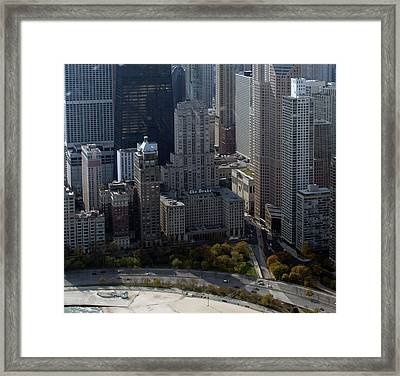 Chicago The Drake Framed Print