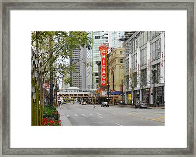 Chicago Theatre - French Baroque Out Of A Movie Framed Print