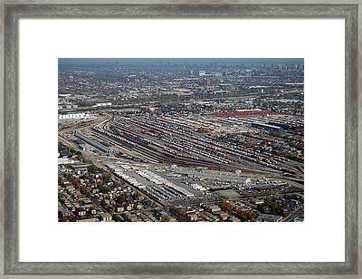 Chicago Transportation 01 Framed Print