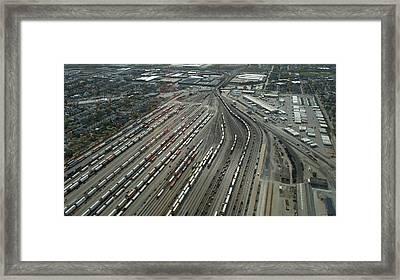 Chicago Transportation 02 Framed Print