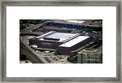 Chicago Tribune Freedom Center Building Framed Print