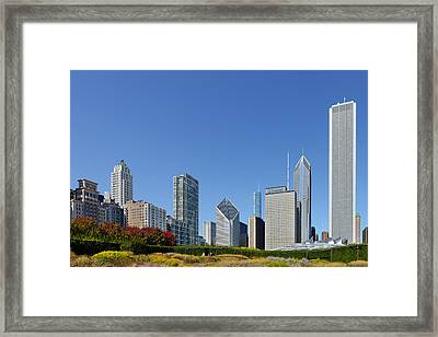 Chicago - What A Beautiful City Framed Print by Christine Till