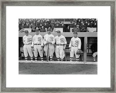 Chicago White Sox, 1917 Framed Print by Granger