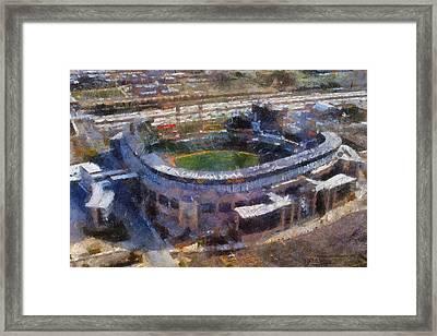 Chicago White Soxs 03 Photo Art Framed Print