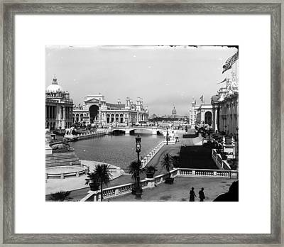 Chicago Worlds Columbian Exposition 1893 Framed Print by Historic Photos