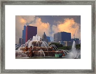 Chicago...my Kind Of Town Framed Print