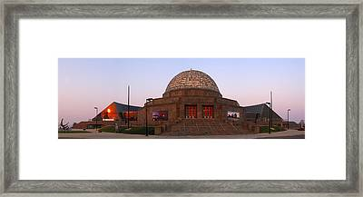 Chicago's Adler Planetarium Framed Print by Adam Romanowicz