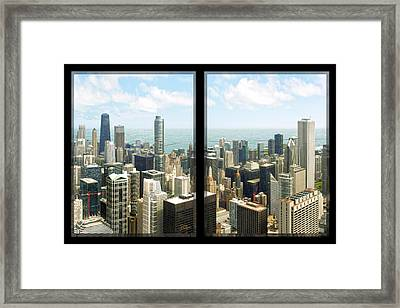 Framed Print featuring the photograph Chicago's Tallest by Doug Kreuger