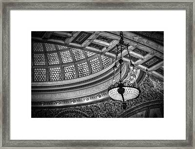 Chicago's Tiffany Dome Framed Print