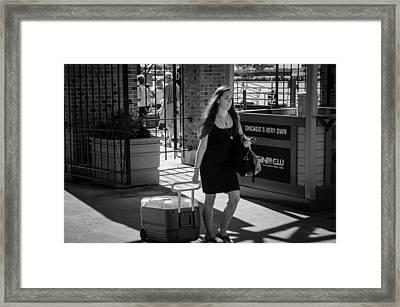 Chicago's Very Own Framed Print by Ricardo Williams