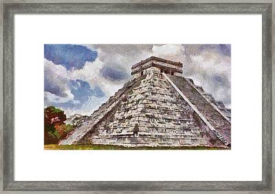Chichen Itza Framed Print