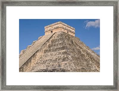 Chichen Itza Mayan Ruin Framed Print by Brandon Bourdages