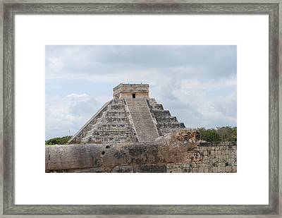 Chichen Itza Framed Print by Robert  Moss