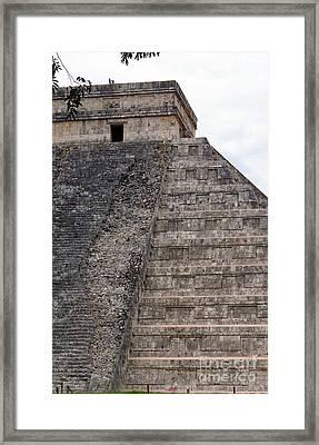 Chichen Itza Ruins 22 Framed Print